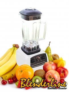 Blenderline Smoothie Blender Professional, 45.000 ot./min, 2200W, bílý